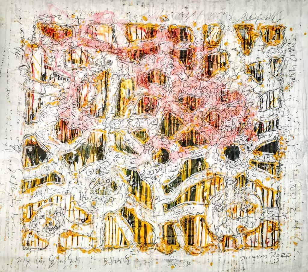 JESICHTA_150x170_ChinaTuscheSchellackAcrylGrafit_CansonZeichenkarton240g_bearb